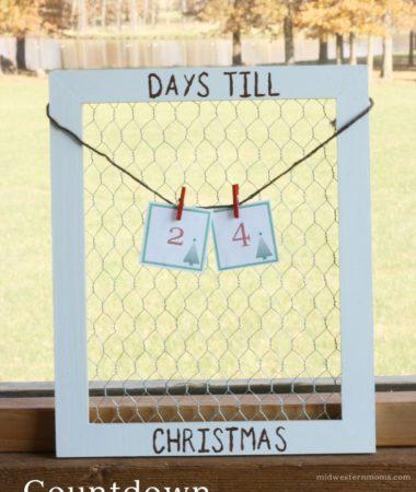 DIY Christmas Countdown