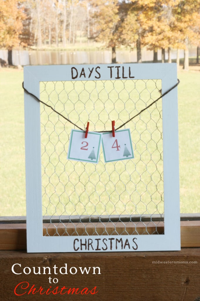 Countdown Till Christmas Craft