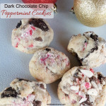 Dark Chocolate Chip & Peppermint Cookies from Ready, Set, Parenthood!