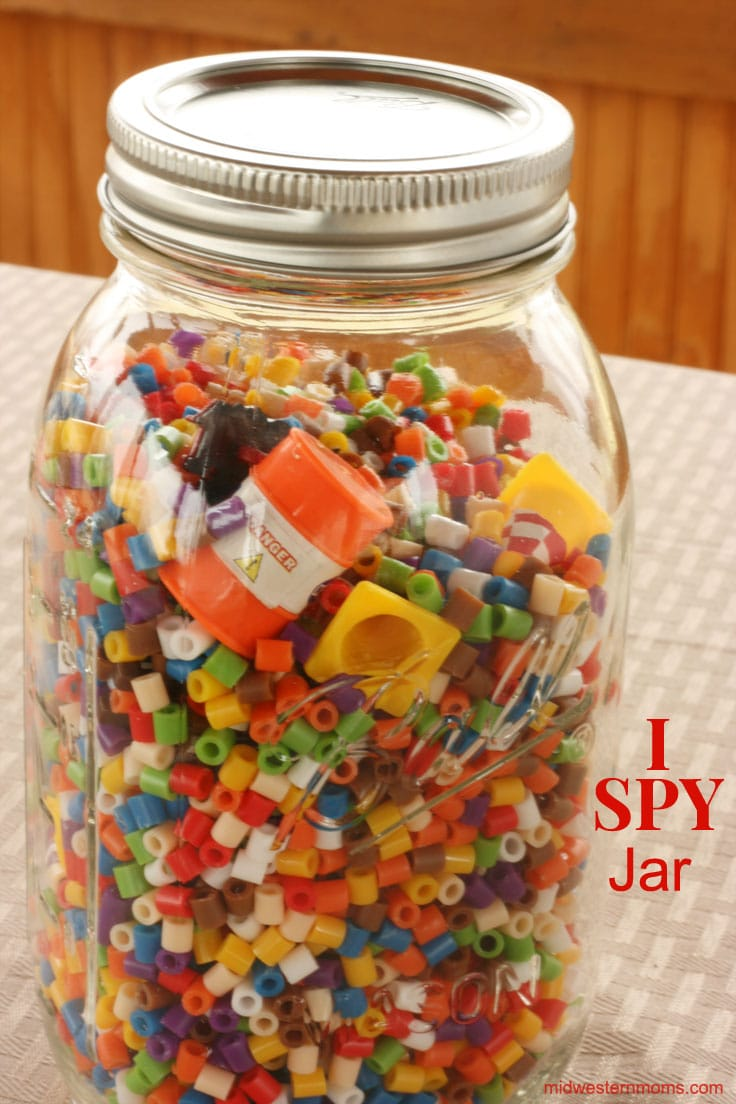 Love the I Spy books? You will love this DIY I Spy Jar.