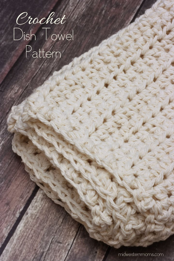 Crochet Dish Towel : Free Crochet Patterns Kitchen Dish Towels