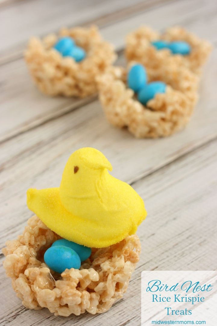 These bird nests are perfect for spring time or Easter treats. These treats will quickly disappear.