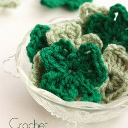 Crochet Shamrock Pattern