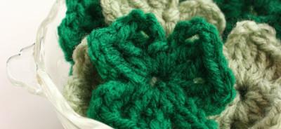 Crochet Shamrock Pattern