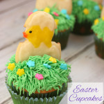 Easter Cupcakes with Bakery Crafts