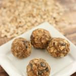 No Bake Granola Balls Recipe
