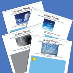 Cloud Worksheets