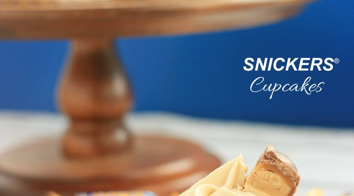 SNICKERS® Cupcakes Recipe