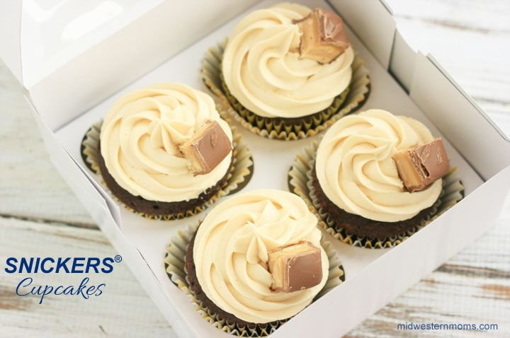 SNICKERS® Cupcakes ready shipping