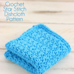 How To Crochet A Star Stitch Dishcloth