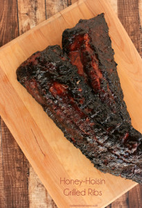 Honey-Hoisin Grilled Ribs