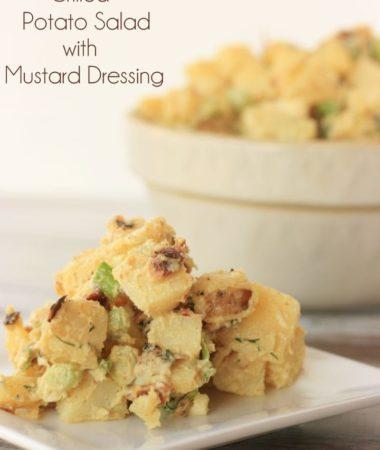 Grilleda Potato Salad with Mustard Dressing