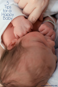 5 Tips for a Happy Baby