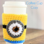 Crochet Minions Coffee Cup Cozy Pattern