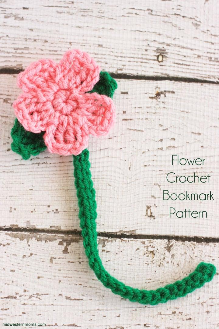 Free Flower Crochet Bookmark Pattern