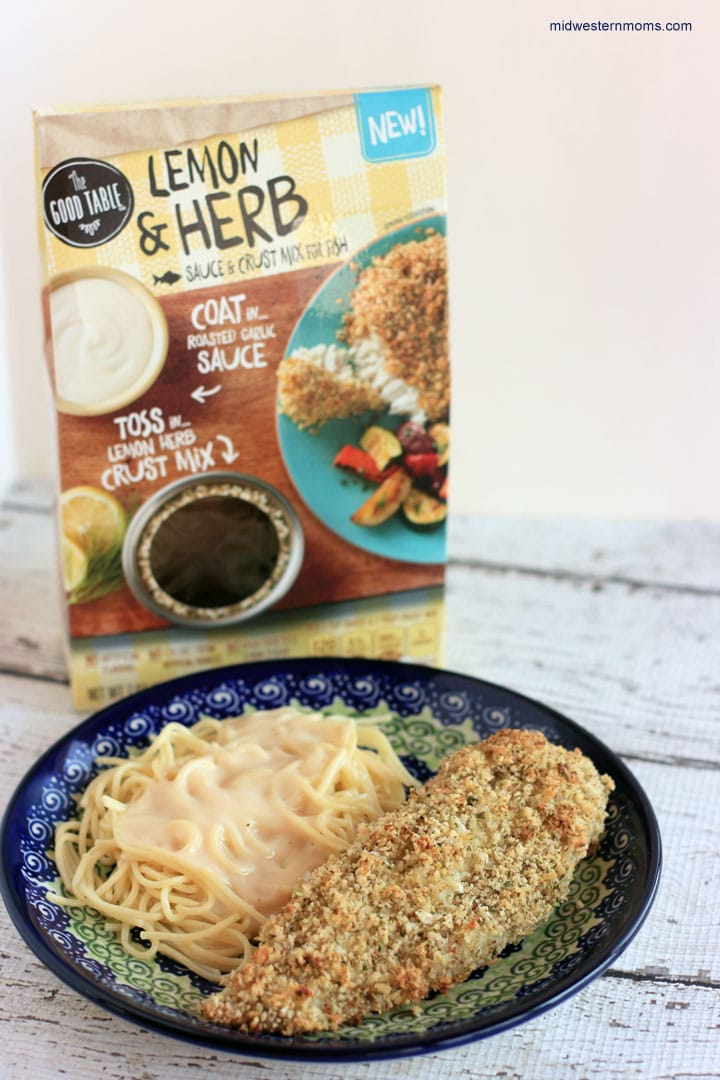 I now use General Mills Good Table® Lemon and Herb for my baked fish. The flavor is unbelievable.