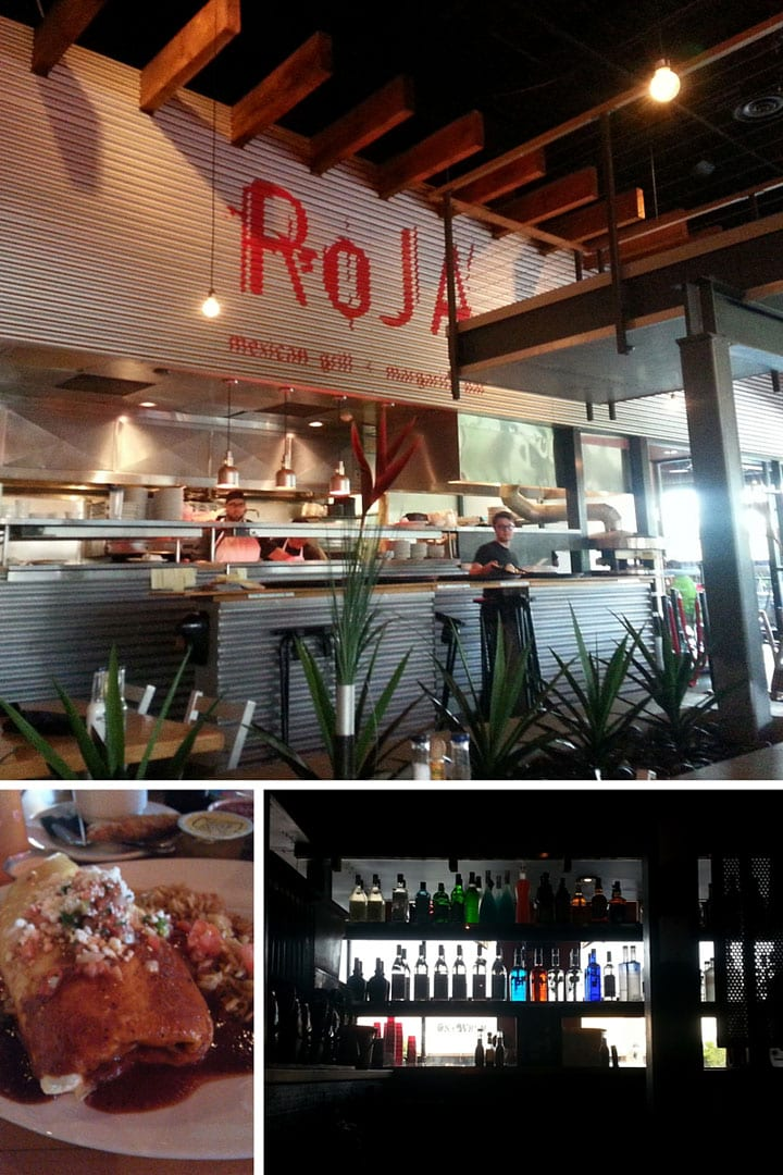 Roja Mexican Grill was a great place to eat while visiting Omaha, NE
