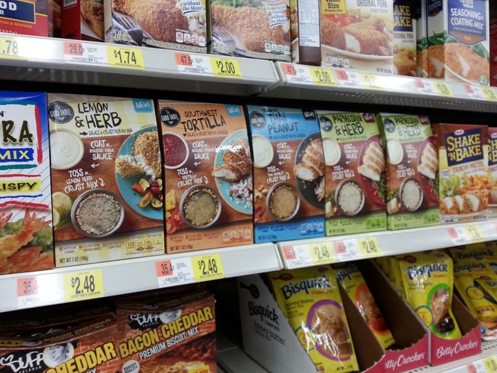 You can find General Mills Good Table® near the breadcrumbs at Walmart