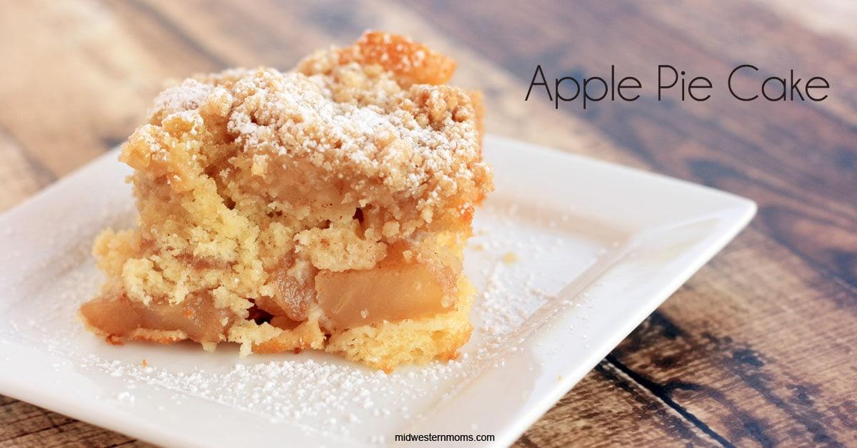 Apple Pie Cake Recipe - Midwestern Moms