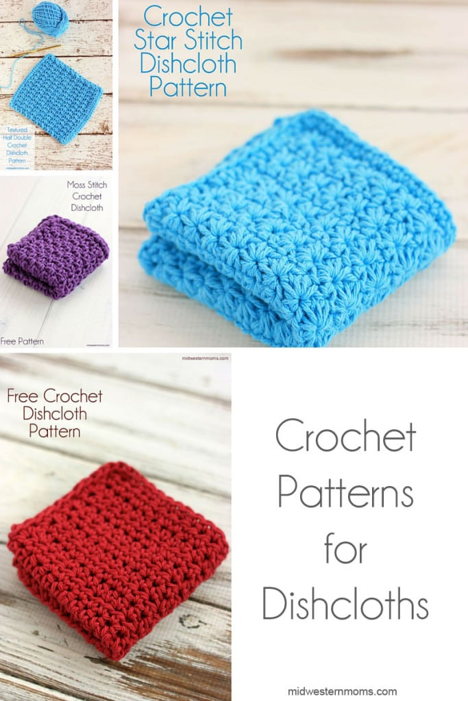 Looking for Crochet Patterns for Dishcloths? Make sure you check these patterns out!