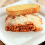 Lasagna can't get any simpler with this Easy Crock Pot Lasagna