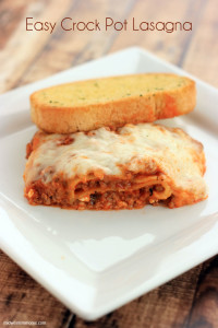 Easy Crock Pot Lasagna Midwestern Moms