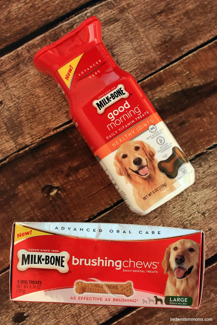 Milk Bone Dog Treats - Good Morning Vitamins are perfect way for dogs to get their vitamins.