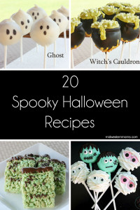 20 Spooky Halloween Recipes perfect for your Halloween party!