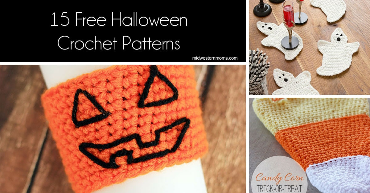 Free Crochet Patterns For Halloween : Free Halloween Crochet Patterns - Midwestern Moms