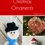Free Crochet Christmas Ornaments. Find a new ornament for yourself or gift. They would be cute added to the outside of a package like a tag.