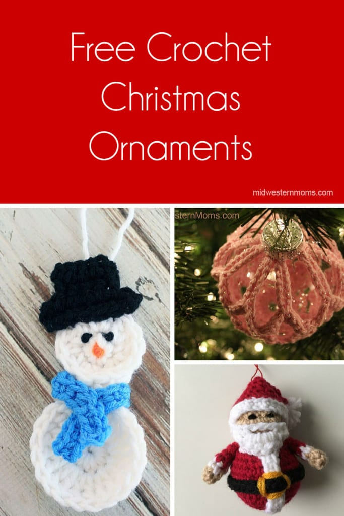 free crochet christmas ornaments find a new ornament for yourself or gift they would