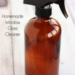 Homemade Window Glass Cleaner