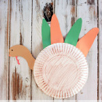 Paper Plate Turkey Craft for Preschoolers