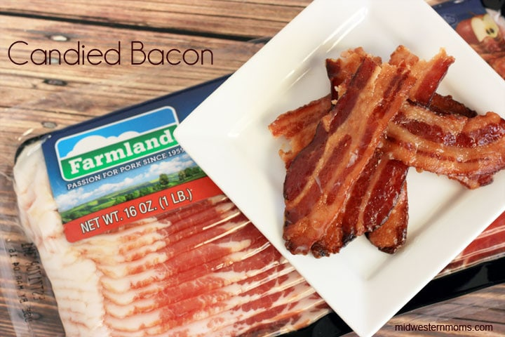 Candied Bacon Recipe. Grab your favorite bacon and some brown sugar to make some candied bacon. It is OH SO GOOD!!! Would be great to make for parties.