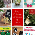 Looking for some easy Christmas ornaments to make? Bet you can find something to make on this great list!