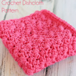 Free Primrose Stitch Crochet Dishcloth Pattern! Love how this dishcloth looks!