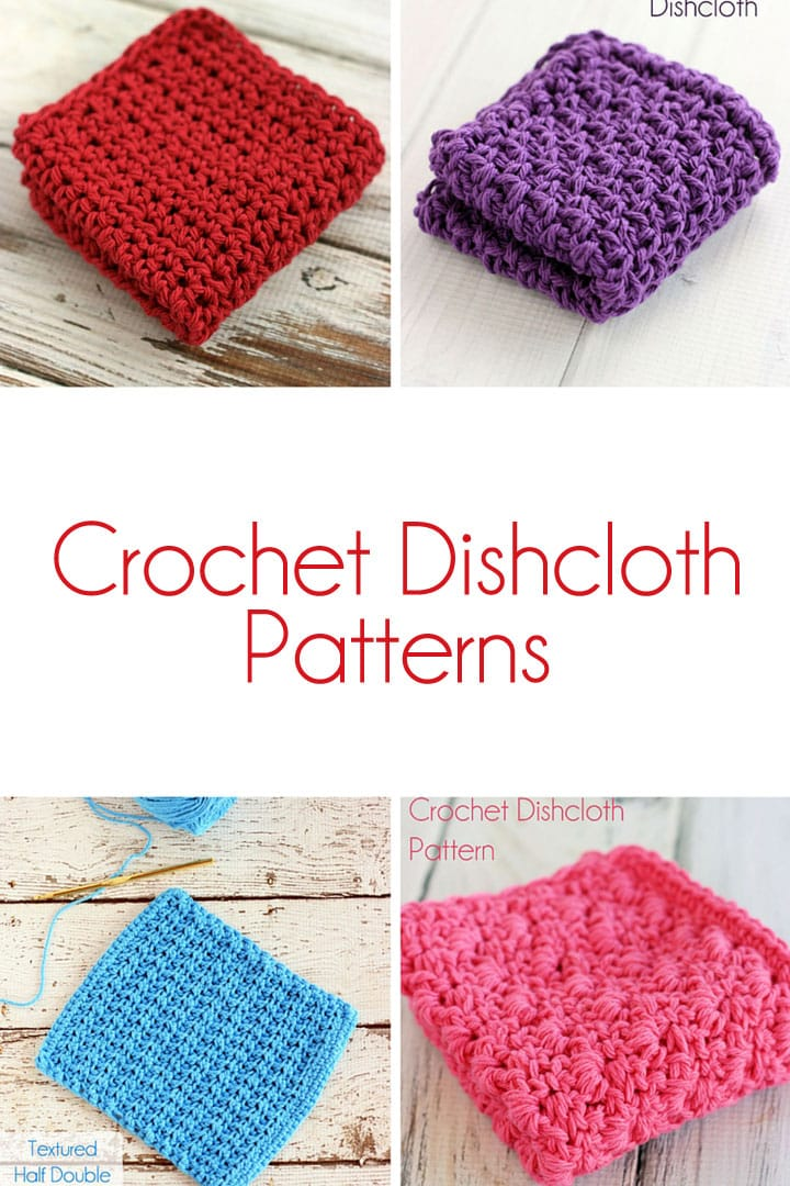Crochet Stitches In Tamil : 25+ Free Dishcloth Patterns: {Crochet} : TipNut.com - Holiday and ...