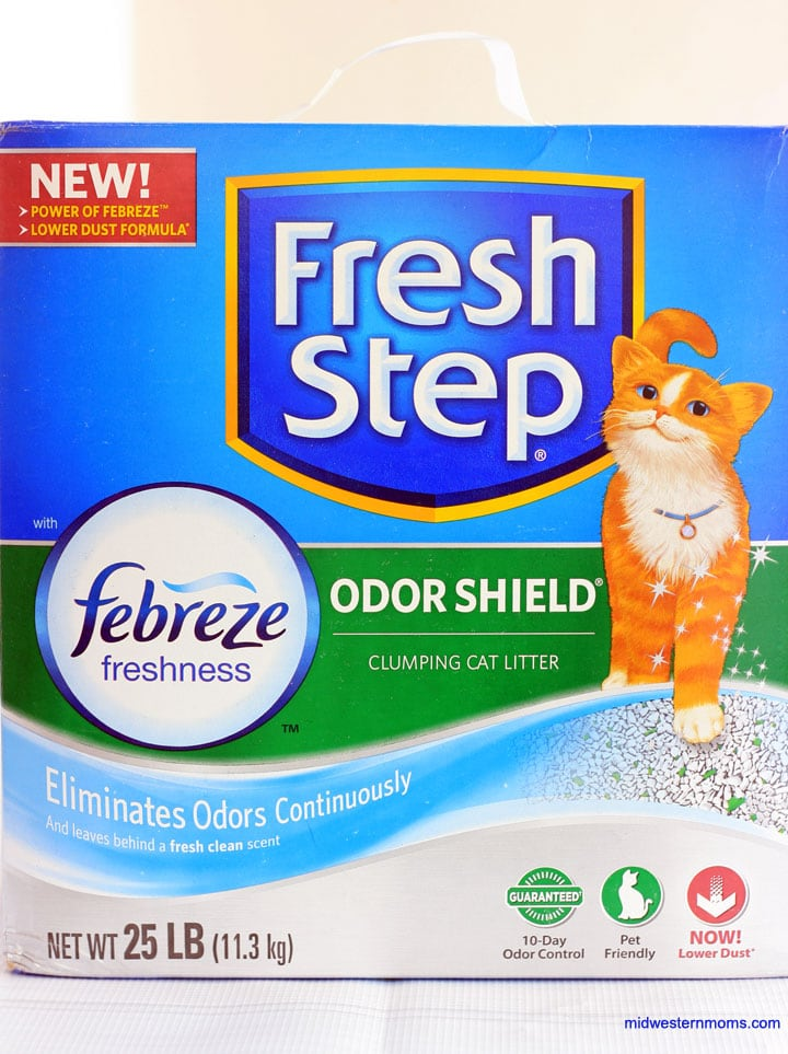 Thanks to Fresh Step® with the Power of Febreze™ for helping my love my cat even more.