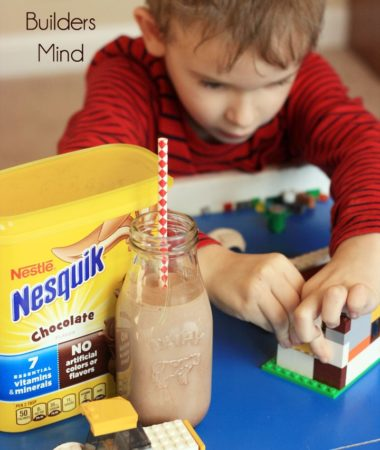 See how I am nourishing my young builders mind.