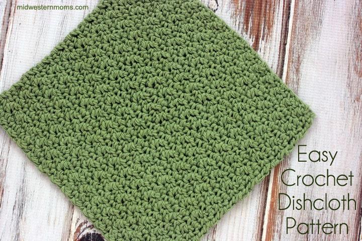 Easy Crochet Dishcloth Pattern