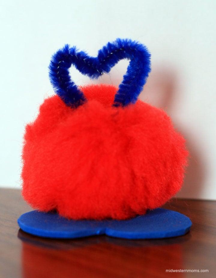 Adding the antenna to Valentine Love Bugs