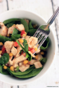 Quick and easy Southwest Chicken Salad Recipe that the whole family will love.