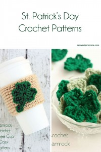 Great list of St. Patrick's Day Crochet Patterns. There are all sorts of things on this list.