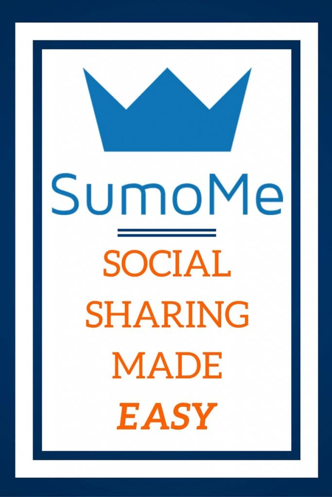 In Blogging, Social Sharing is extremely important. SumoMe makes social sharing easy. See why I love SumoMe.