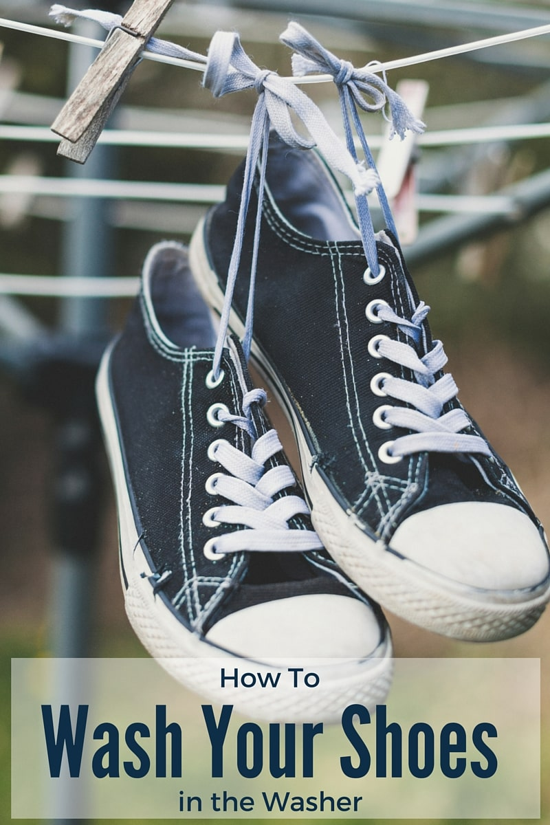 How to wash your shoes in the washer