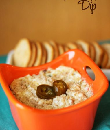 This Jalapeno Popper Dip brings the heat! Pair this dip with tortilla chips, melba toast snacks.
