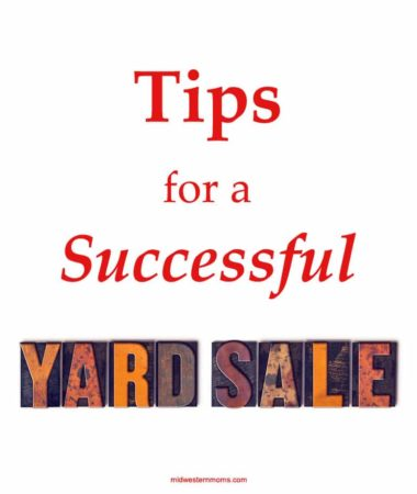 Planning a yard sale or garage sale? Make sure you check out these tips for a successful yard sale!