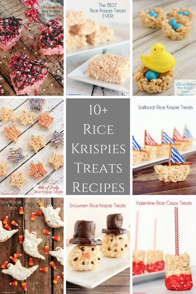 10+ Rice Krispies Treats Recipes. Find something for any occasion