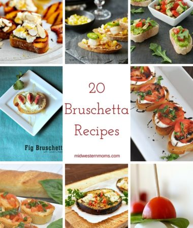 20 delicious Bruschetta Recipes