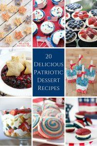 20 Delicious Patriotic Desserts!
